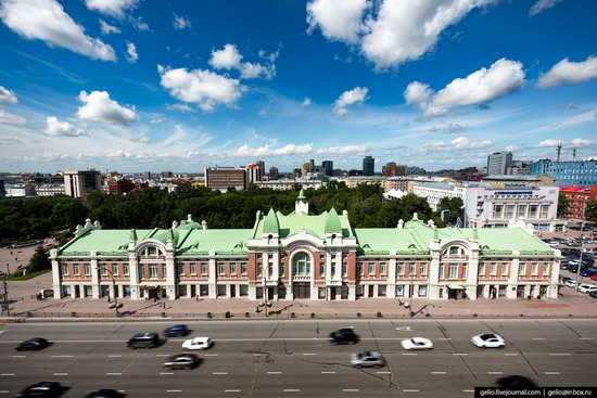 Novosibirsk from above, Russia, photo 5