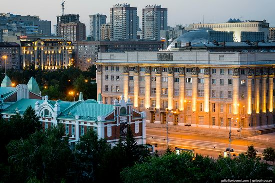 Novosibirsk from above, Russia, photo 7