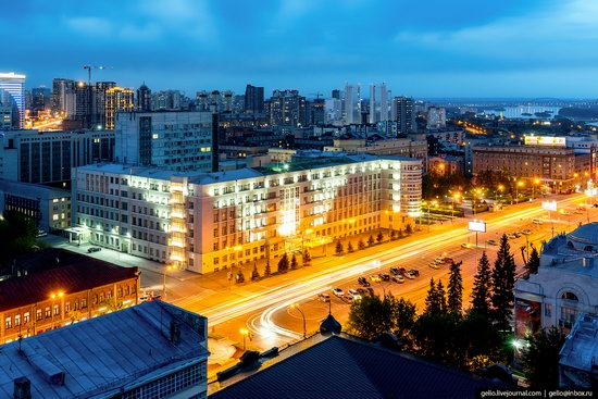 Novosibirsk from above, Russia, photo 9