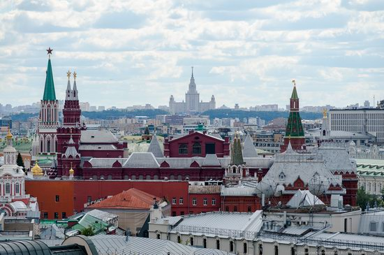Moscow from the Roof of the Central Children's Store, photo 10