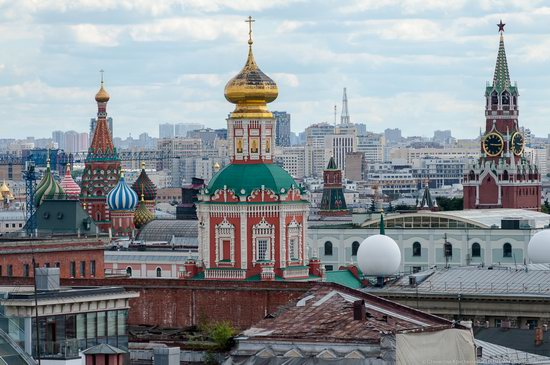 Moscow from the Roof of the Central Children's Store, photo 13