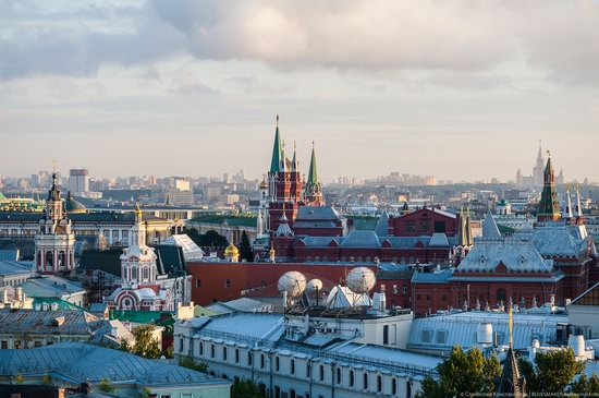 Moscow from the Roof of the Central Children's Store, photo 17