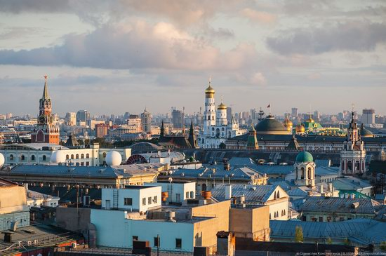 Moscow from the Roof of the Central Children's Store, photo 19