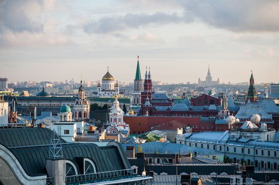Moscow from the Roof of the Central Children's Store, photo 21