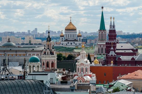 Moscow from the Roof of the Central Children's Store, photo 7