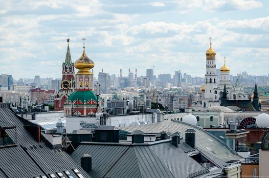 Moscow from the Roof of the Central Children's Store, photo 8