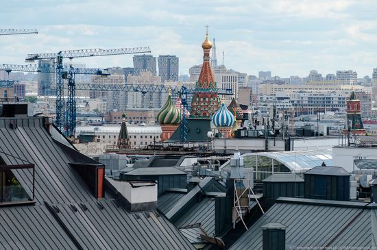 Moscow from the Roof of the Central Children's Store, photo 9