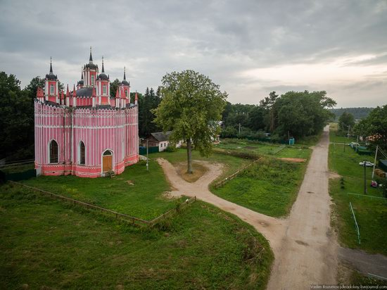 Transfiguration Church in Krasnoye,Tver region, Russia, photo 1