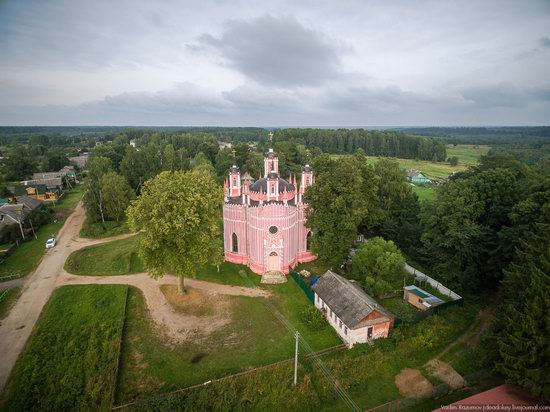 Transfiguration Church in Krasnoye,Tver region, Russia, photo 13