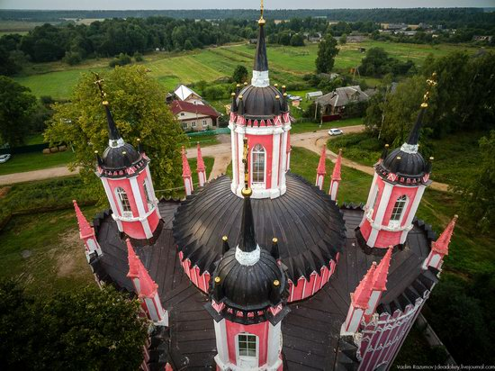 Transfiguration Church in Krasnoye,Tver region, Russia, photo 14