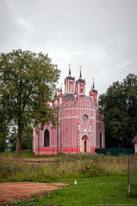 Transfiguration Church in Krasnoye,Tver region, Russia, photo 8