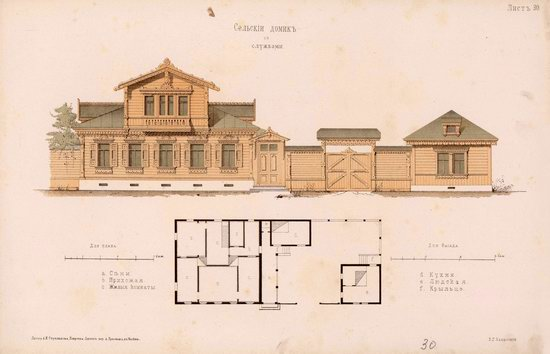 Urban and Rural Buildings of the Russian Empire, picture 13