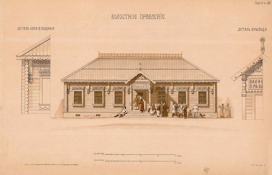 Urban and Rural Buildings of the Russian Empire, picture 21