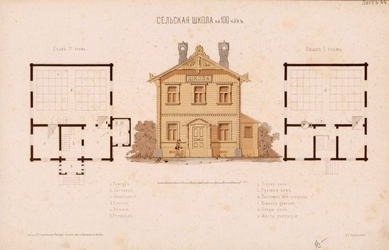 Urban and Rural Buildings of the Russian Empire, picture 22