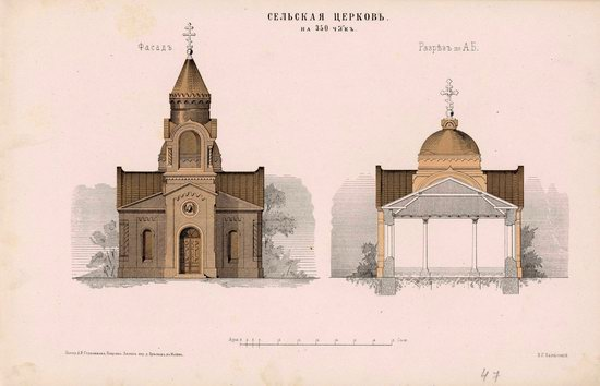 Urban and Rural Buildings of the Russian Empire, picture 23