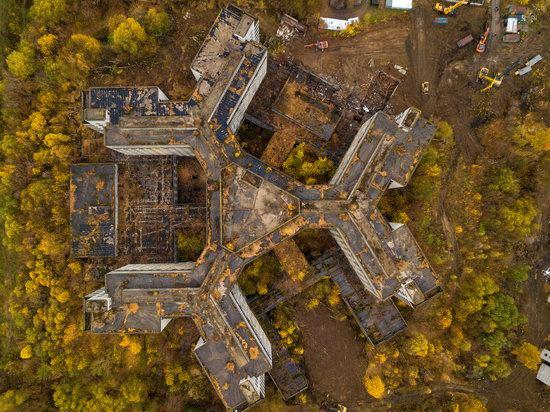 Abandoned Khovrino Hospital, Moscow, Russia, photo 1