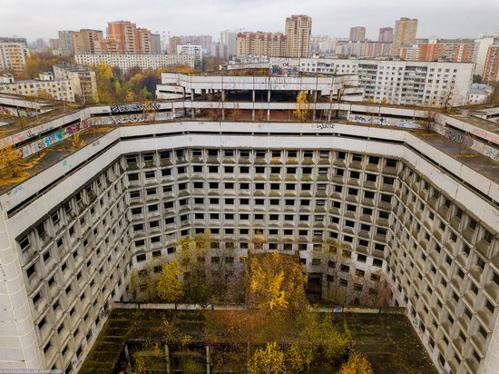 Abandoned Khovrino Hospital, Moscow, Russia, photo 10