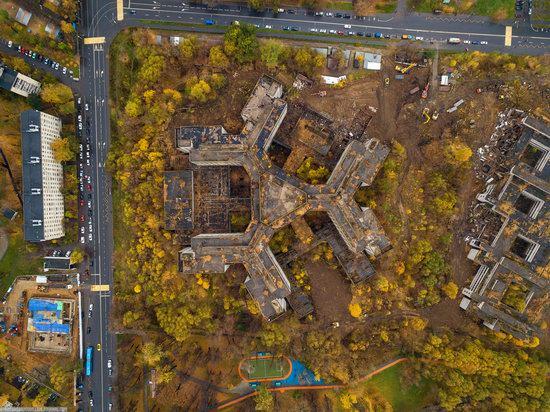 Abandoned Khovrino Hospital, Moscow, Russia, photo 3