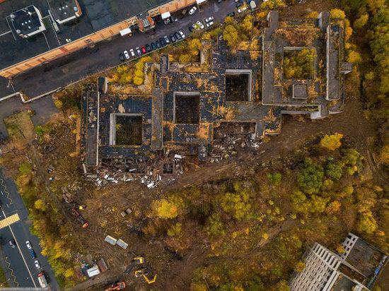 Abandoned Khovrino Hospital, Moscow, Russia, photo 4