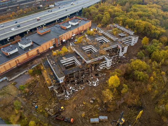 Abandoned Khovrino Hospital, Moscow, Russia, photo 6