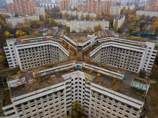 Abandoned Khovrino Hospital, Moscow, Russia, photo 8