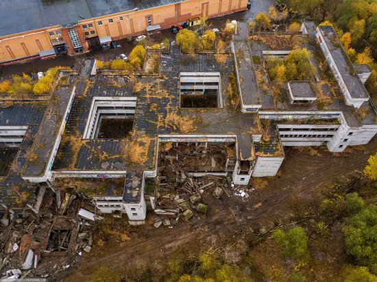 Abandoned Khovrino Hospital, Moscow, Russia, photo 9