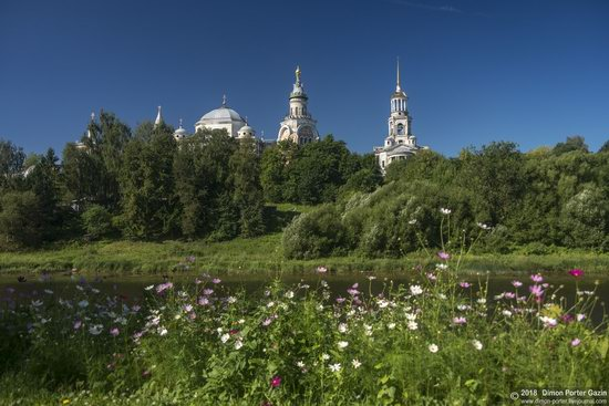 Borisoglebsky Monastery in Torzhok, Tver region, Russia, photo 1
