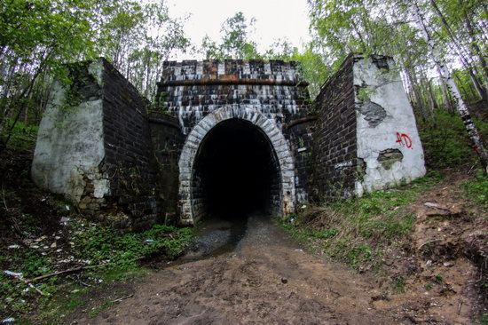 Abandoned Didino Railway Tunnel, Russia, photo 1