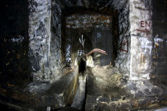 Abandoned Didino Railway Tunnel, Russia, photo 16
