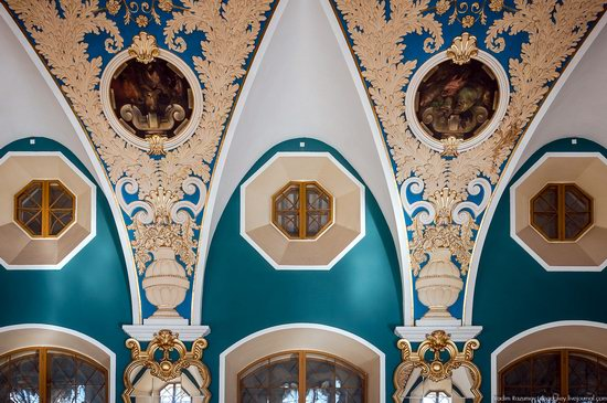 Amazing Interiors of Kazansky Station, Moscow, Russia, photo 10