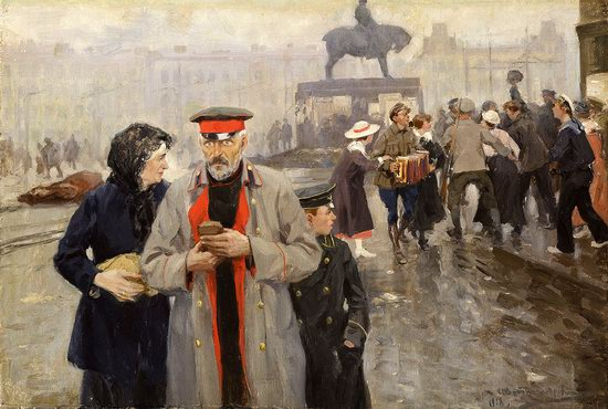Russia in 1917-1919 - the Paintings of Ivan Vladimirov, picture 14