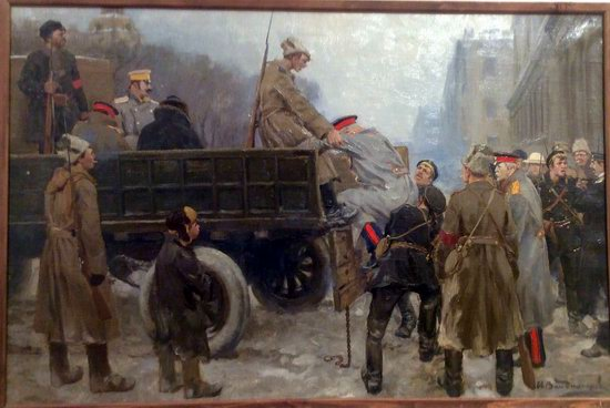 Russia in 1917-1919 - the Paintings of Ivan Vladimirov, picture 3