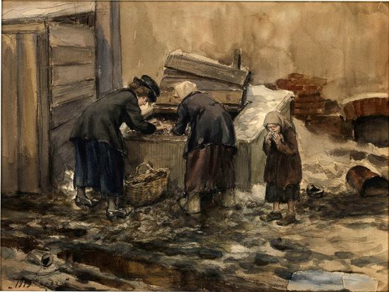 Russia in 1917-1919 - the Paintings of Ivan Vladimirov, picture 31