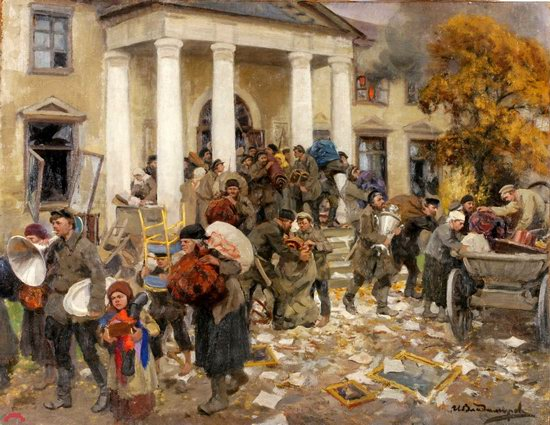 Russia in 1917-1919 - the Paintings of Ivan Vladimirov, picture 33