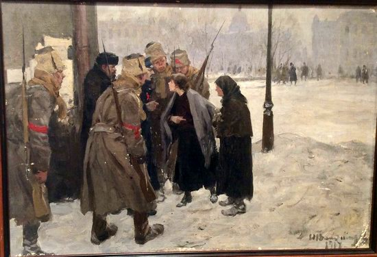 Russia in 1917-1919 - the Paintings of Ivan Vladimirov, picture 4