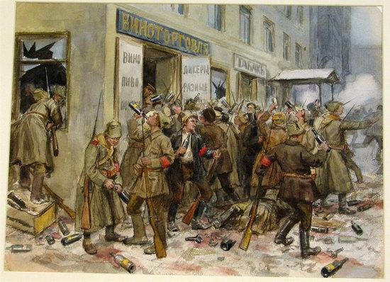 Russia in 1917-1919 - the Paintings of Ivan Vladimirov, picture 8
