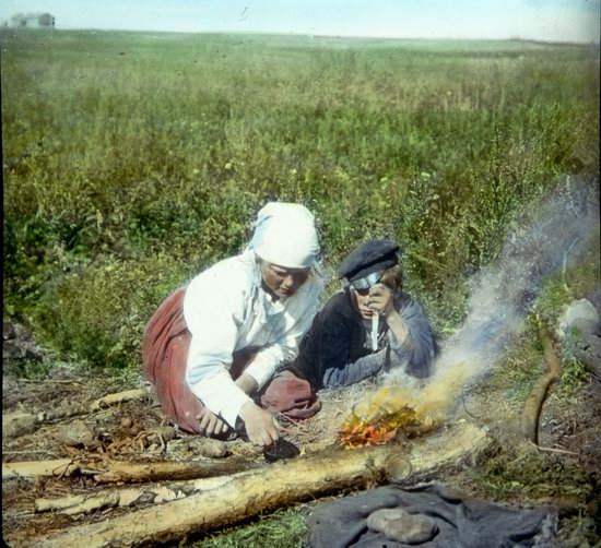 People of Russia in 1916-1919, photo 14