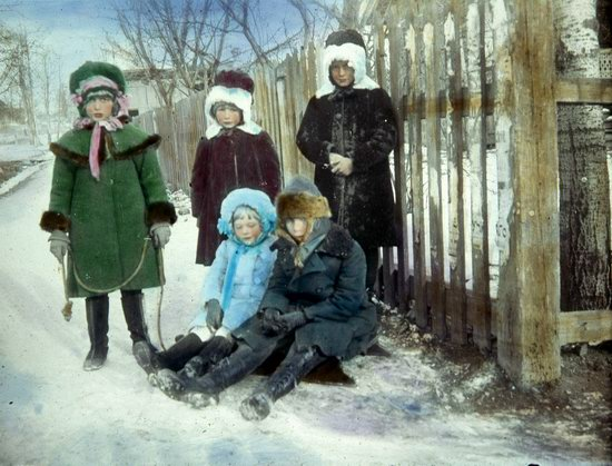 People of Russia in 1916-1919, photo 28