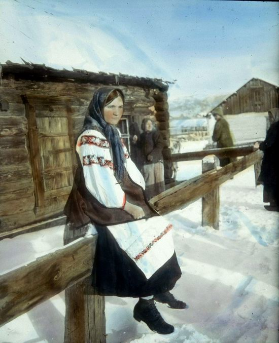 People of Russia in 1916-1919, photo 29