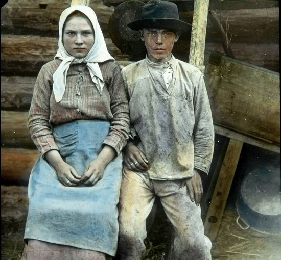 People of Russia in 1916-1919, photo 7