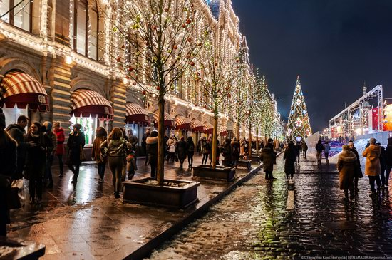 Center of Moscow Decorated for the New Year Holidays, photo 10
