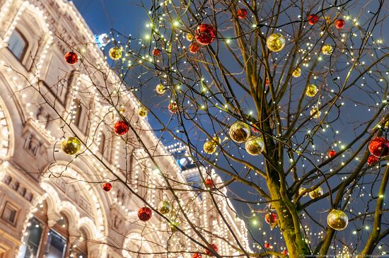 Center of Moscow Decorated for the New Year Holidays, photo 11