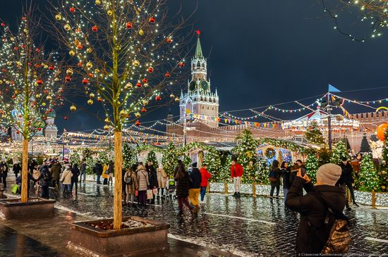 Center of Moscow Decorated for the New Year Holidays, photo 15