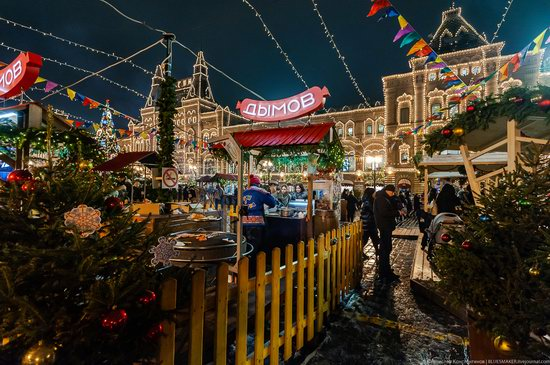 Center of Moscow Decorated for the New Year Holidays, photo 18