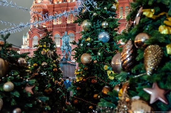 Center of Moscow Decorated for the New Year Holidays, photo 2