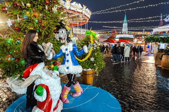 Center of Moscow Decorated for the New Year Holidays, photo 20
