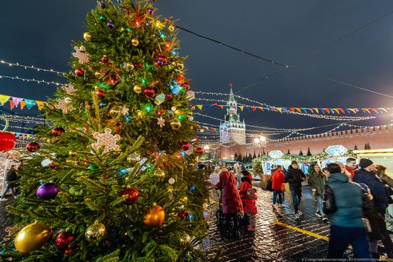 Center of Moscow Decorated for the New Year Holidays, photo 21