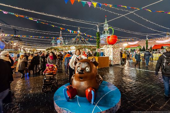 Center of Moscow Decorated for the New Year Holidays, photo 23