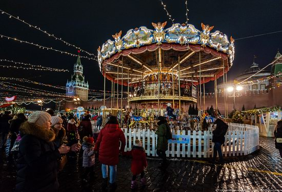 Center of Moscow Decorated for the New Year Holidays, photo 24