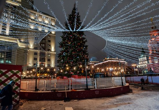 Center of Moscow Decorated for the New Year Holidays, photo 3